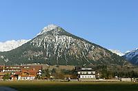 Viehweiden  Oberstdorf im Allgäu, Bayern, Deutschland<br /> pastures in Oberstdorf, Allgäu, Bavaria,  Germany