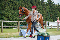 GBR-Sarah Bullimore presents Corouet during the First Horse Inspection for the CCI-L 4*. 2021 GBR-Bicton International Horse Trials. Devon. Great Britain. Copyright Photo: Libby Law Photography