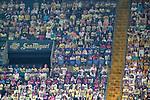 Representative figures of Villarreal CF fans during La Liga match. November 2, 2020. (ALTERPHOTOS/Acero)