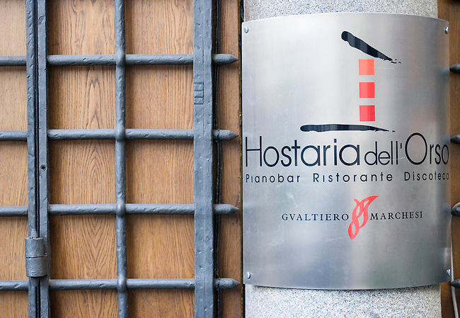 Exterior, Pan Hostario D'Orso Restaurant, Rome, Italy
