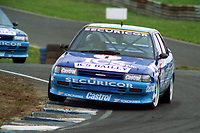1992 British Touring Car Championship #1 Will Hoy (GBR). Team Securicor ICS Toyota. Toyota Carina.