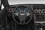 Car pictures of steering wheel view of a 2015 Bentley Continental GTC  Base 2 Door Convertible