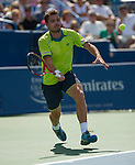 Stanislas Wawrinka (SUI) loses at the Western & Southern Open in Mason, OH on August 18, 2012.