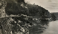 BNPS.co.uk (01202) 558833<br /> Pic: Tennants/BNPS<br /> <br /> The notorious 'Death Railway' along the River Kwai in Burma built by the POW's. <br /> <br /> A British prisoner of war's drawings and photographs of the building of the notorious 'Death Railway' in Burma have sold for £5,000.<br /> <br /> Captain Harry Witheford's accomplished sketches highlight the horrific ordeal endured by the captured soldiers at the hands of their Japanese captors in World War Two.<br /> <br /> The so-called Death Railway along the River Kwai claimed the lives of 12,000 Allied PoWs who were subjected to forced labour during its construction.