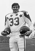 Bill Symons 1970 Canadian Football League Allstar team. Copyright photograph Ted Grant
