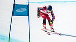 Alexis Guimond, PyeongChang 2018 - Para Alpine Skiing // Ski para-alpin.<br /> Alexis Guimond skis in the men's standing super-G // Alexis Guimond skis en super-G debout masculin. 11/03/2018.