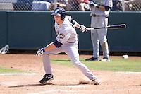 Eugene Emeralds second baseman Cory Spangenberg #19 at bat during a game against the Everett AquaSox at Everett Memorial Stadium on June 26, 2011 in Everett, WA.  Eugene defeated Everett 14-4.  (Ronnie Allen/Four Seam Images)