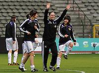 15 Mei 2010 Bekerfinale vrouwen : Sinaai Girls - RSC Anderlecht  : Caroline Berrens.foto DAVID CATRY / Vrouwenteam.be
