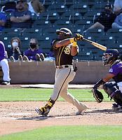 Eguy Rosario - San Diego Padres 2021 spring training (Bill Mitchell)