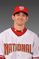 14 March 2008: ..Portrait of Daniel Lyons, Washington Nationals Minor League player at Spring Training Camp 2008..Mandatory Photo Credit: Ed Wolfstein Photo
