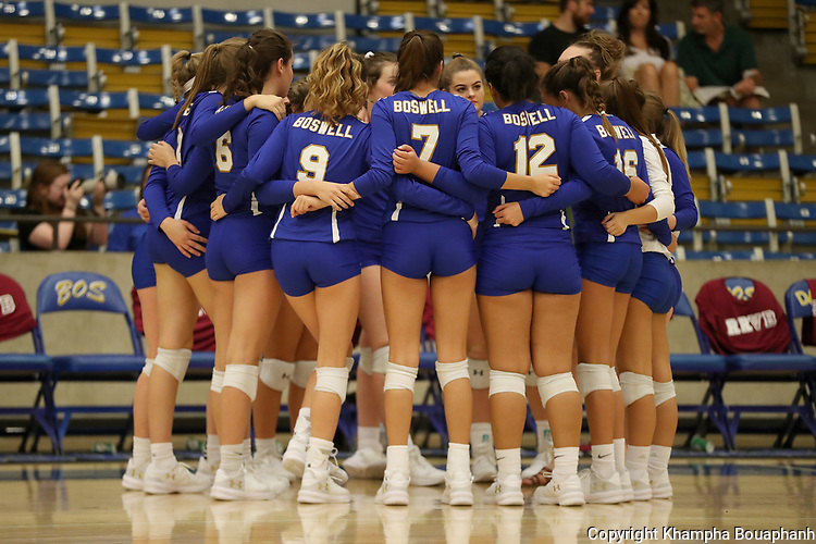 Boswell plays Saginaw in high school volleyball in Fort Worth on Friday, September 8, 2017. (photo by Khampha Bouaphanh)