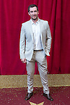 © Licensed to London News Pictures . 16/05/2015 .  The Palace Hotel , Manchester , UK . ANTHONY QUINLAN . The red carpet at the 2015 British Soap Awards , The Palace Hotel , Oxford Road , Manchester . Photo credit : Joel Goodman/LNP