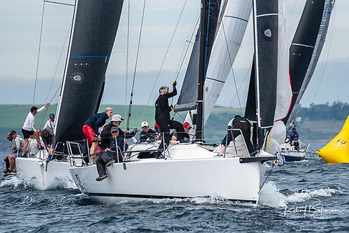 Michael and Richard Evans J99 Snapshot from Howth on day two of the Sovereigns Cup in Kinsale