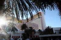 LAS VEGAS-ESTADOS UNIDOS. Hotel Mirage de la ciudad de Las Vegas, sitio de descanso y placer de turistas y residentes americanos. Photo: VizzorImage