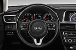 Car pictures of steering wheel view of a 2017 KIA Optima-Sportswagon Fusion 5 Door Wagon Steering Wheel