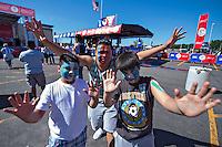 Action photo during the match Argentina vs Venezuela at Gillette Stadium Copa America Centenario 2016. ---Foto de accion durante el partido Argentina vs Venezuela, En el Estadio Gillette. Partido Correspondiante a los Cuartos de Final de la Copa America Centenario USA 2016, en la foto: Fans<br /> <br /> --- - 18/06/2016/MEXSPORT/Javier Ramirez.