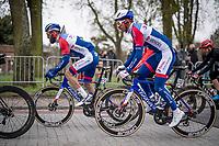 Anthony Turgis (FRA/Total Direct Energie)<br /> <br /> 105th Ronde van Vlaanderen 2021 (MEN1.UWT)<br /> <br /> 1 day race from Antwerp to Oudenaarde (BEL/264km) <br /> <br /> ©kramon