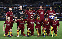 Football Soccer: UEFA Champions League  AS Roma vs PFC CSKA Mosca Stadio Olimpico Rome, Italy, October 23, 2018. <br /> Roma's players pose for the pre match photograph prior to the Uefa Champions League football soccer match between AS Roma and PFC CSKA Mosca at Rome's Olympic stadium, October 23, 2018.<br /> UPDATE IMAGES PRESS/Isabella Bonotto