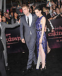 Robert Pattinson,Kristen Stewart attends The Los Angeles premiere of Summit Entertainment's THE TWILIGHT SAGA: BREAKING DAWN PART 1 HELD AT Nokia Theatre at L.A. Live in Los Angeles, California on November 14,2011                                                                               © 2010 DVS / Hollywood Press Agency
