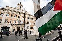 15.05.2018 - Pro-Palestine Demo Outside Italian Parliament