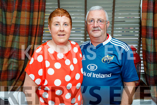 Louise and Derek Patterson from Tralee and Limerick enjoying the evening in Cassidys on Saturday