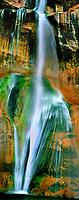 920750001 panoramic view of lower calf creek falls in escalante grand staircase national monument utah