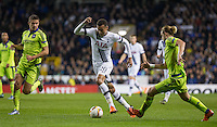 Dele Alli of Tottenham Hotspur during an attack during the UEFA Europa League Group J match between Tottenham Hotspur and R.S.C. Anderlecht at White Hart Lane, London, England on 5 November 2015. Photo by Andy Rowland.