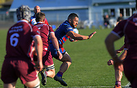 Action from the Horowhenua-Kapiti premier club rugby union final between Rahui and Shannon at Levin Domain in Levin, New Zealand on Saturday, 8 August 2020. Photo: Dave Lintott / lintottphoto.co.nz