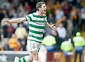 29/08/2010   Copyright  Pic : James Stewart.sct_jsp009_motherwell_v_celtic  .::  DARYL MURPHY CELEBRATES AFTER HE SCORES FROM THE SPOT ::.James Stewart Photography 19 Carronlea Drive, Falkirk. FK2 8DN      Vat Reg No. 607 6932 25.Telephone      : +44 (0)1324 570291 .Mobile              : +44 (0)7721 416997.E-mail  :  jim@jspa.co.uk.If you require further information then contact Jim Stewart on any of the numbers above.........