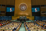 LOS general debate – 27 September<br /> <br /> PM<br /> <br /> His Excellency Ismael Ould Cheikh AHMED Minister for Foreign Affairs and Cooperation of Mauritania