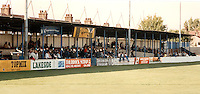 Main stand at the Recreation Ground - Grays Athletic Football Club - 1997 (approx) - MANDATORY CREDIT: Gavin Ellis/TGSPHOTO. Self-Billing applies where appropriate. NO UNPAID USE. Tel: 0845 094 6026