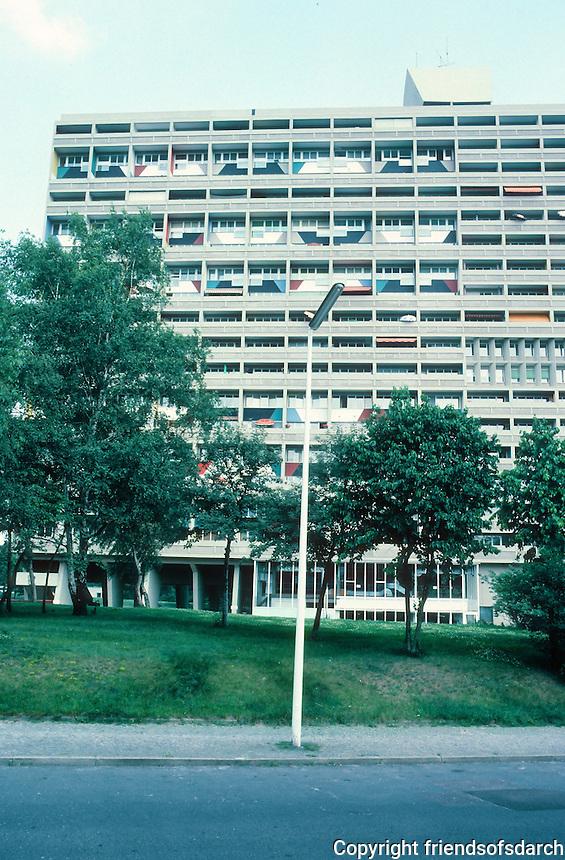 Le Corbusier: Unite D'Habitation, Berlin.