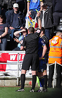 ATTENTION SPORTS PICTURE DESK<br /> Pictured:<br /> Re: npower Championship Swansea City FC v Leeds United at the Liberty Stadium, south Wales. Saturday 26 February 2011