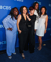 NEW YORK CITY, NY, USA - MAY 14: Sheryl Underwood, Sara Gilbert, Sharon Osbourne, Aisha Tyler, Julie Chen at the 2014 CBS Upfront held at Carnegie Hall on May 14, 2014 in New York City, New York, United States. (Photo by Celebrity Monitor)