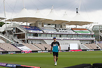 Will Young, New Zealand during a training session ahead of the ICC World Test Championship Final at the Hampshire  Bowl on 17th June 2021