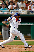 Richie Robnett - Chicago Cubs - 2009 spring training.Photo by:  Bill Mitchell/Four Seam Images