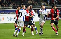 Martin Fenin (Eintracht) wird bei der Ecke von Oliver Kirch (Bielefeld) gehalten<br /> Eintracht Frankfurt vs. Arminia Bielefeld, Commerzbank Arena<br /> *** Local Caption *** Foto ist honorarpflichtig! zzgl. gesetzl. MwSt. Auf Anfrage in hoeherer Qualitaet/Aufloesung. Belegexemplar an: Marc Schueler, Am Ziegelfalltor 4, 64625 Bensheim, Tel. +49 (0) 6251 86 96 134, www.gameday-mediaservices.de. Email: marc.schueler@gameday-mediaservices.de, Bankverbindung: Volksbank Bergstrasse, Kto.: 151297, BLZ: 50960101