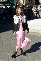 Alexa Chung - Show MIU MIU - Paris Fashion Week Womenswear Spring/Summer 2017 - 5 octobre 2016 - FRANCE