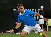 Netherlands, Den Bosch, 16.06.2014. Tennis, Topshelf Open, Jean-Julien Rojer (NED) <br /> Photo:Tennisimages/Henk Koster