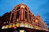 Harrod's department store, Knights Bridge