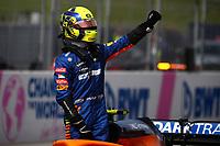 #04 Lando Norris; McLaren Mercedes. Formula 1 World championship 2021, Austrian GP 4-7-2021Photo Federico Basile / Insidefoto