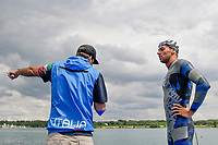 ANTONELLI Fabrizio, PALTRINIERI Gregorio ITA<br /> Team Event 5 km<br /> Open Water<br /> Budapest  - Hungary  15/5/2021<br /> Lupa Lake<br /> XXXV LEN European Aquatic Championships<br /> Photo Andrea Staccioli / Deepbluemedia / Insidefoto