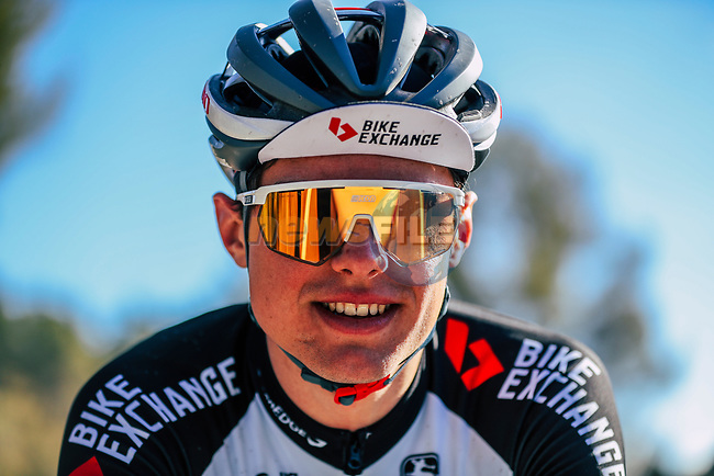 Robert Stannard (AUS) Team BikeExchange men's squad during their recent training camp in Calpe, Spain. 18th January 2021.<br /> Picture: Sara Cavallini/GreenEDGE Cycling | Cyclefile<br /> <br /> All photos usage must carry mandatory copyright credit (© Cyclefile | Sara Cavallini/GreenEDGE Cycling)