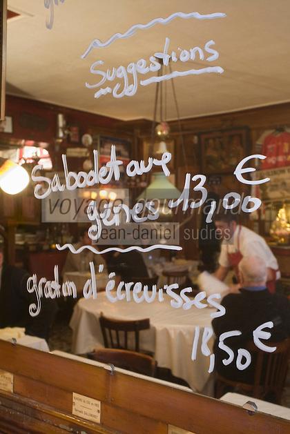 Europe/France/Rhône-Alpes/69/Rhône/Lyon:  Bouchon Le Garet, 7, rue du Garet