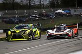 #12 AIM Vasser Sullivan Lexus RC F GT3, GTD: Frank Montecalvo, Townsend Bell, #7 Acura Team Penske Acura DPi, DPi: Helio Castroneves, Ricky Taylor