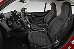 Front seat view of 2020 Smart EQ-fortwo Comfort-Plus 3 Door Hatchback Front Seat  car photos