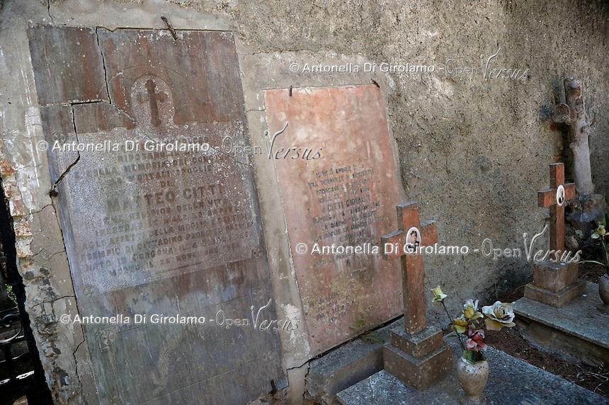 Isola di Gorgona. Il vecchio cimitero del paese. The old cemetery.Gorgona island.