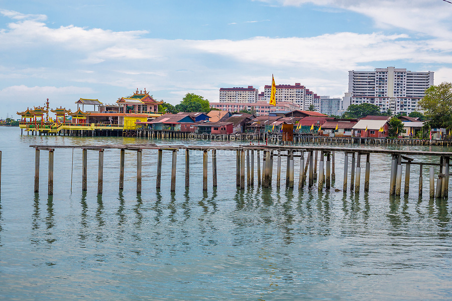 A Clan Jetty, George Town, Penang, Malaysia