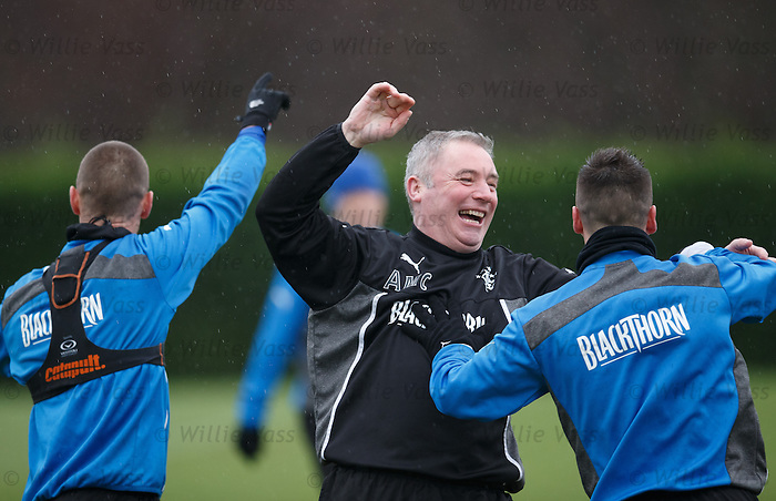 Ally McCoist tells Ian Black that he is beaten