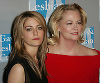 Cybill Shepherd & daughter Clementine Ford, 4-25-2009<br /> Photo by Nick Sherwood-PHOTOlink